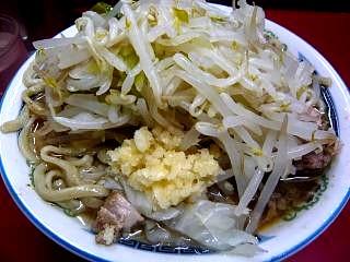 20120923ラーメン二郎目黒店(その1)