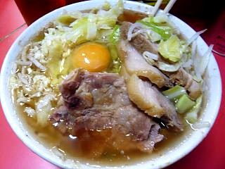 20121215ラーメン二郎三田本店(その3)