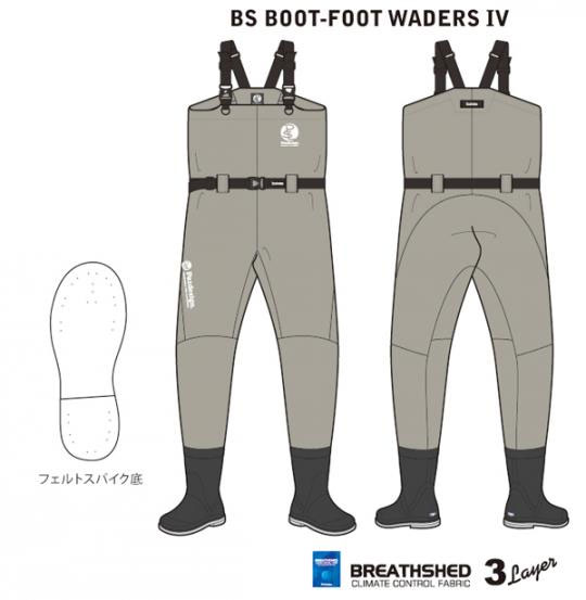 パズデザイン PSL・BSブーツフットウエーダーⅣ SLW-008