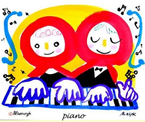 ムムリクさんの「piano」1