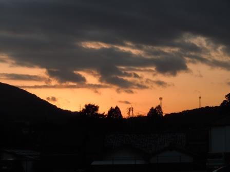 夕景(2014-01-24)