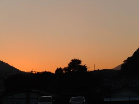 夕景(2014-01-23)