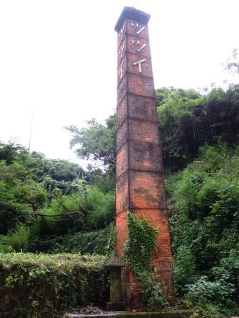 煙突と蔦2 (2013-06-30)