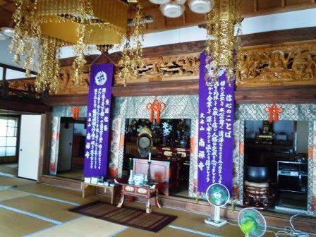 桂雲寺本堂(2013-08-22)