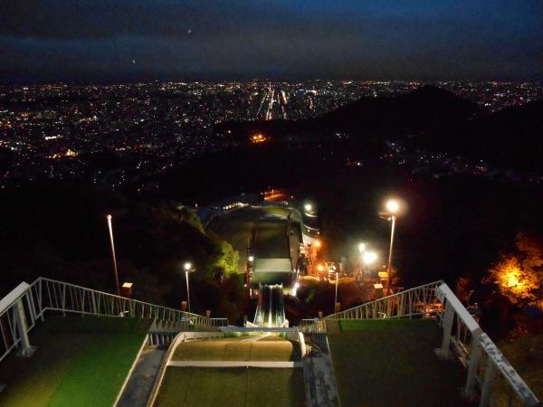 大倉からの夜景