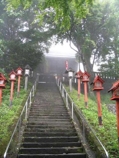 熊野皇太神社階段