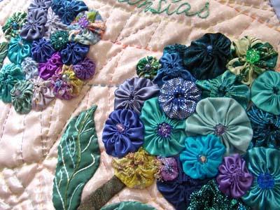ヨーヨーの紫陽花