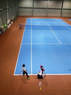 12月テニス