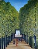 Henri Rousseau_サン・クルー公園の小路