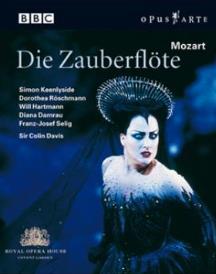 『魔笛』マクヴィカー演出、コリン・デイヴィス指揮 コヴェントガーデン王立歌劇場、レッシュマン、ハルトマン、ダムラウ(Opus Arte classic 2003 )