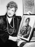 マーラーの肖像と晩年のアルマ