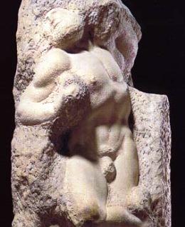 Michelangelo (奴隷像 )