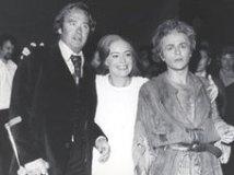 René Kollo, Gwyneth Jones als Brünnhilde und Regisseur Patrice Chéreau als Siegfried. Siegfried 1976