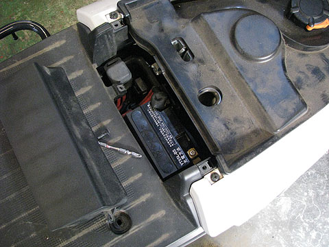 ギア バッテリー 5L-BS バッテリー交換 UA06J
