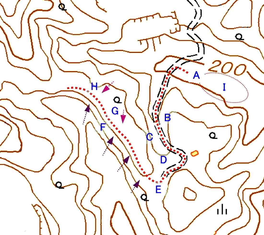 捜索エリア地図(1)