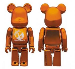 orange plating BE@RBRICK