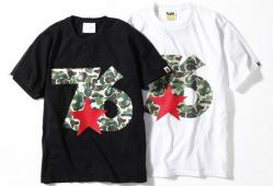 WHIZ × A BATHING APE 76CAMO Tシャツ