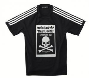 adidas × mastermind コラボTシャツ