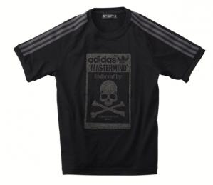 adidas × mastermind コラボTシャツ BLK
