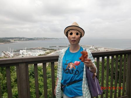 海と、Tシャツのぼくと、ダロちゃんとママ