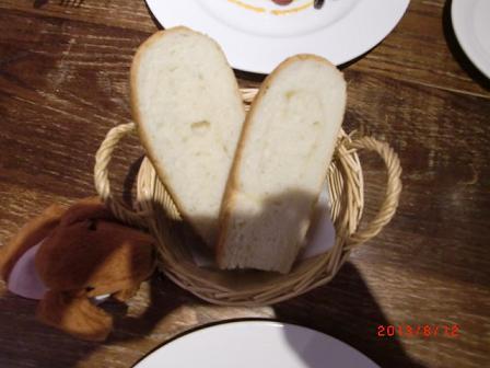 パンは焼きたて