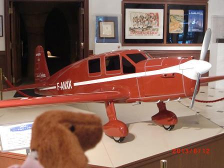 サン=テグジュペリの飛行機