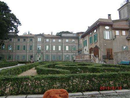 お城とフランス式庭園