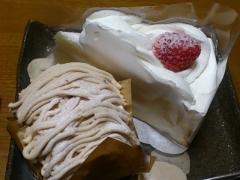 誕生日のケーキ。
