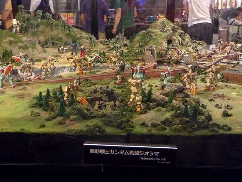 ガンダムワールド仙台4巨大ジオラマ