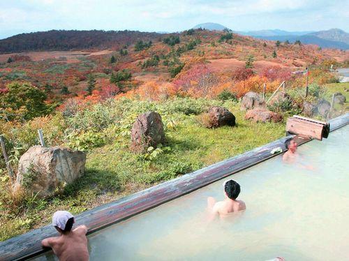 たびねす栗駒山須川高原1