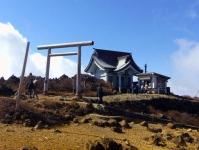 紅葉2014蔵王8刈田嶺神社