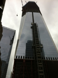 World Trade Center under constructing