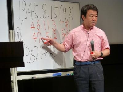 「憲法を見直す大講演会」講師:青山繁晴氏011