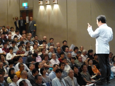 「憲法を見直す大講演会」講師:青山繁晴氏009