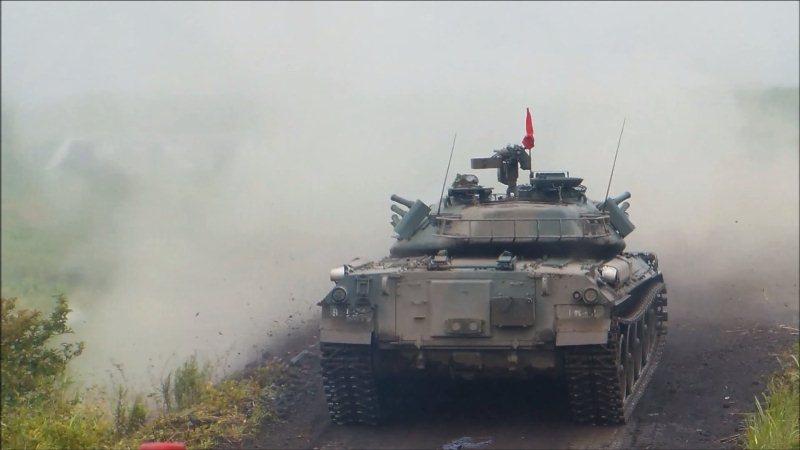 74式戦車射撃 (4)