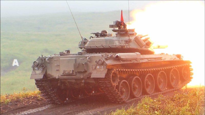 74式戦車射撃 (5)