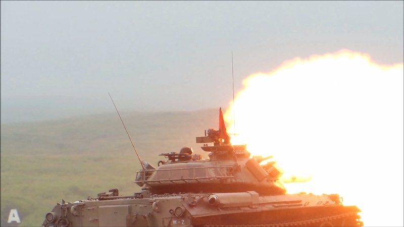 74式戦車射撃 (6)