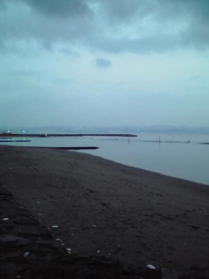 早朝の雨晴海岸1