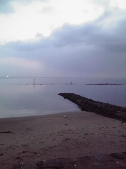 早朝の雨晴海岸2