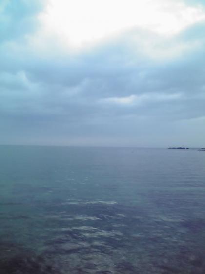 早朝の雨晴海岸3
