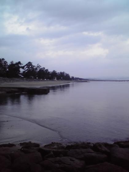 早朝の雨晴海岸4