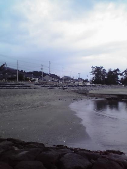 早朝の雨晴海岸5