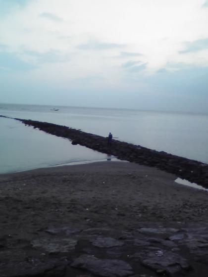 早朝の雨晴海岸6