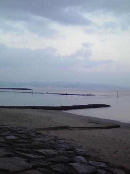 早朝の雨晴海岸7