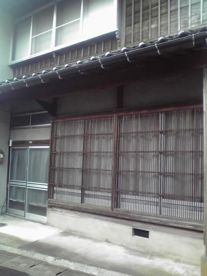 地蔵町界隈(千本格子の家屋)