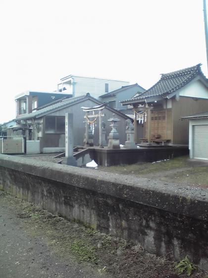 須々能神社遠景
