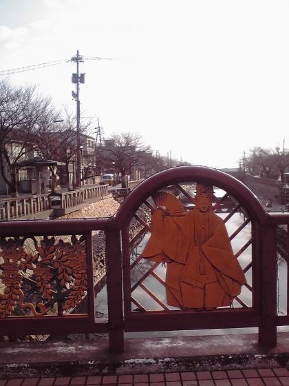 中の橋から