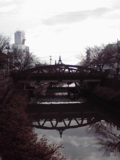 湊川河岸風景1