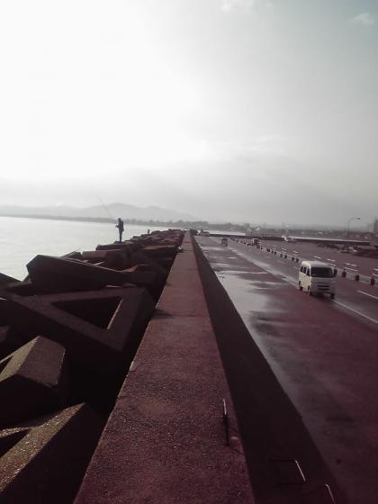 防波堤風景