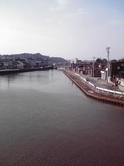 上庄川上流へ